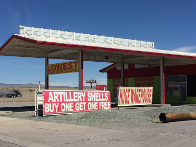 Travel blog image for April 4, 2017 in Van Horn, TX