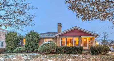 All Brick Ranch Bungalow in South Edgebook Indian Road Park
