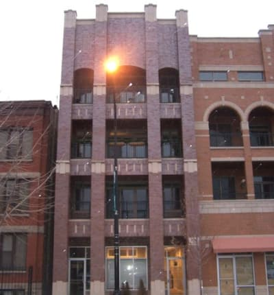 Built in 2006 Brick Four Flat