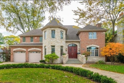 "Custom Stone and Brick home in the ""Manor"" of Park Ridge for Sale"