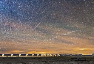 2020最后的天文盛宴,双子座流星雨绽放夜空