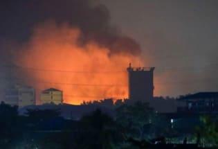 """缅甸政变:中资工厂遭纵火,政变以来""""最血腥的一天""""发生了什么"""