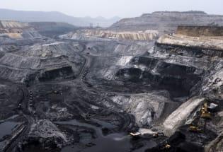 """""""人类纪""""标识:地球表面形形色色的矿坑"""