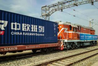 中欧铁路货运量激增
