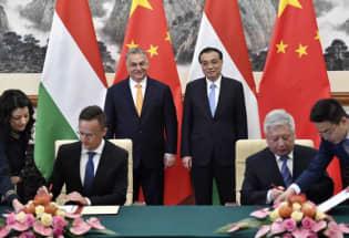 匈牙利拟将中国资助铁路项目信息列为保密