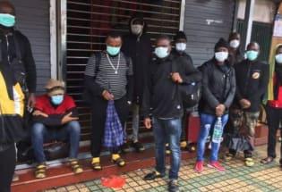 """肺炎疫情:非洲裔人士在中国广州""""被歧视"""" 引发外交风波"""