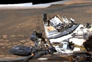 NASA公布有史以来最清晰的火星全景照片