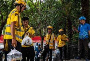 一年200万吨外卖垃圾:被塑料淹没的中国