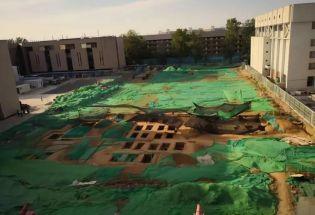 清华大学校园发现近百座古墓!