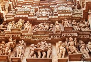 """印度""""性庙""""艺术:公元前的《爱经》诞生国如何看待性爱?"""