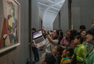 毕加索展在北京:中国艺术的繁荣与限制