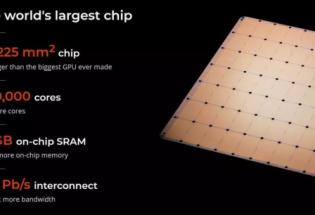 """集成1.2万亿晶体管!美AI芯片""""黑马""""杀出,研发出史上最大芯片"""