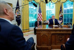 中美达成第一阶段实质性贸易协议 特朗普称非常接近结束贸易战
