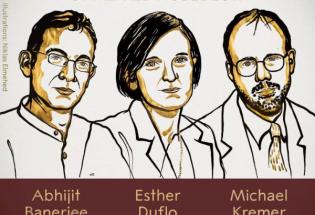三位美国学者分享2019年诺贝尔经济学奖