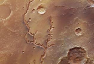 火星上发现了河流遗址