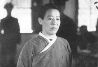 狱中面对面:采访被判死刑后的川岛芳子