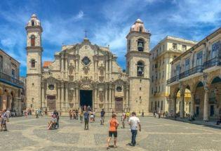 历史建筑:古巴首都哈瓦那旧城的迷人风情
