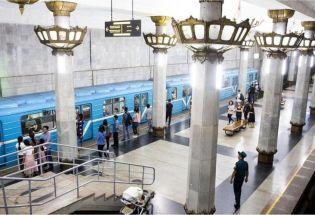 乌兹别克地铁:体现苏联风格的富丽堂皇