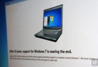 微软正式终止 Windows 7 支持