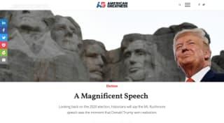 特朗普的独立日演讲与美国秩序的根基
