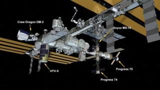 """SpaceX新""""奋进号""""首次对接空间站"""