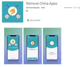 """一键""""卸载中国应用""""这款App,在印度火了"""
