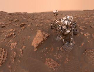 """""""好奇号""""登陆火星8周年 NASA发文庆祝"""
