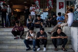 中国手机品牌真我在亚洲新兴市场打开局面