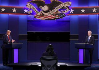 特朗普与拜登在最后一场总统辩论中交锋新冠疫情
