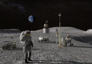 美国誓言2024年让女航天员登上月球,更具野心的是建立永久基地