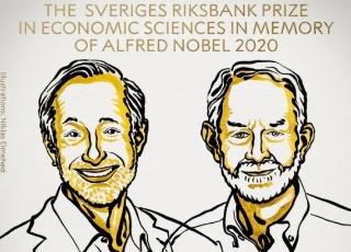 两位美国学者分享2020年诺贝尔经济学奖!