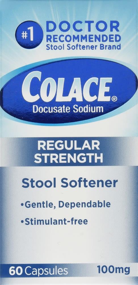 Colace Capsules Regular Strength
