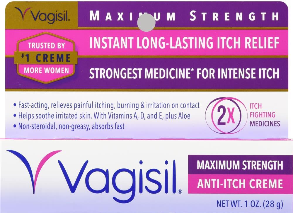 Vagisil Anti-Itch Creme Maximum Strength