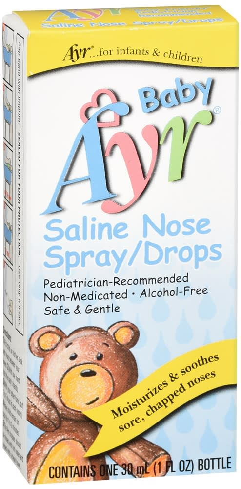 Ayr Baby Saline Nose Spray/Drops