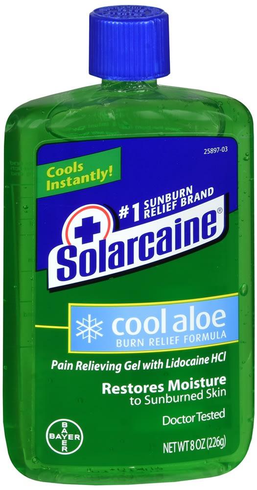 Solarcaine Cool Aloe Burn Relief Formula Gel