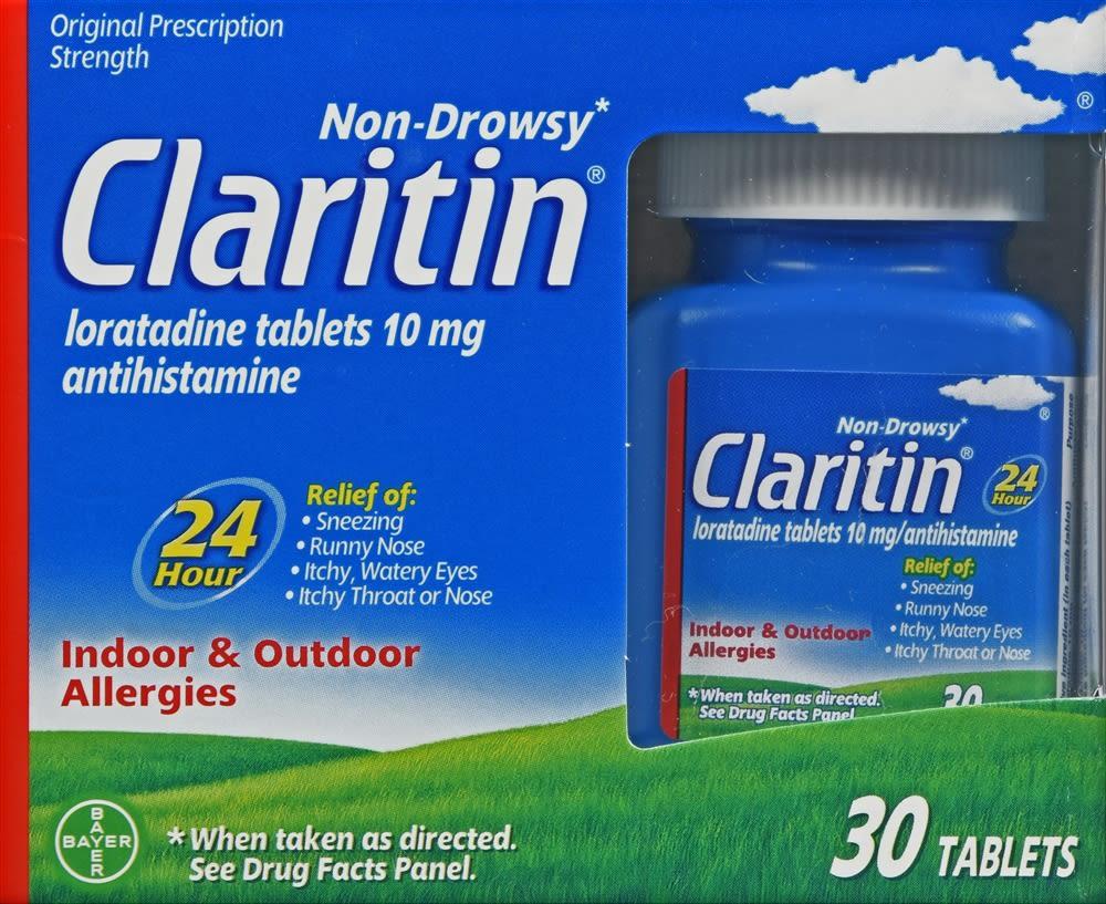 Claritin 24 Hour Allergy Tablets