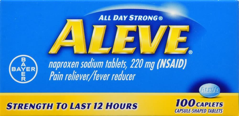 Aleve Pain Reliever/Fever Reducer Caplets