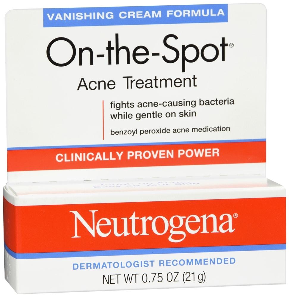Neutrogena On-the-Spot Acne Treatment Vanishing Cream Formula
