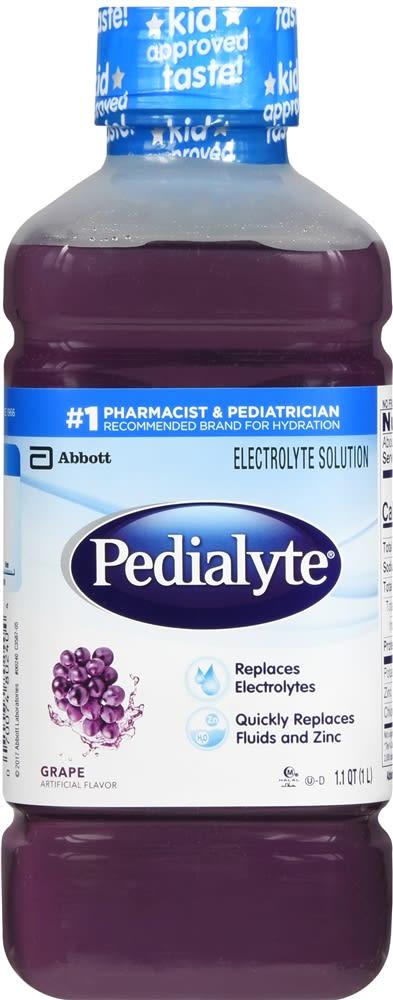 Pedialyte Electrolyte Solution, Grape