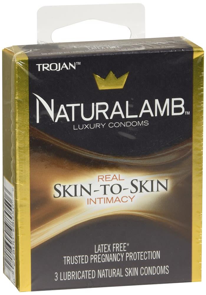 Trojan Naturalamb Lubricated Natural Skin Condoms