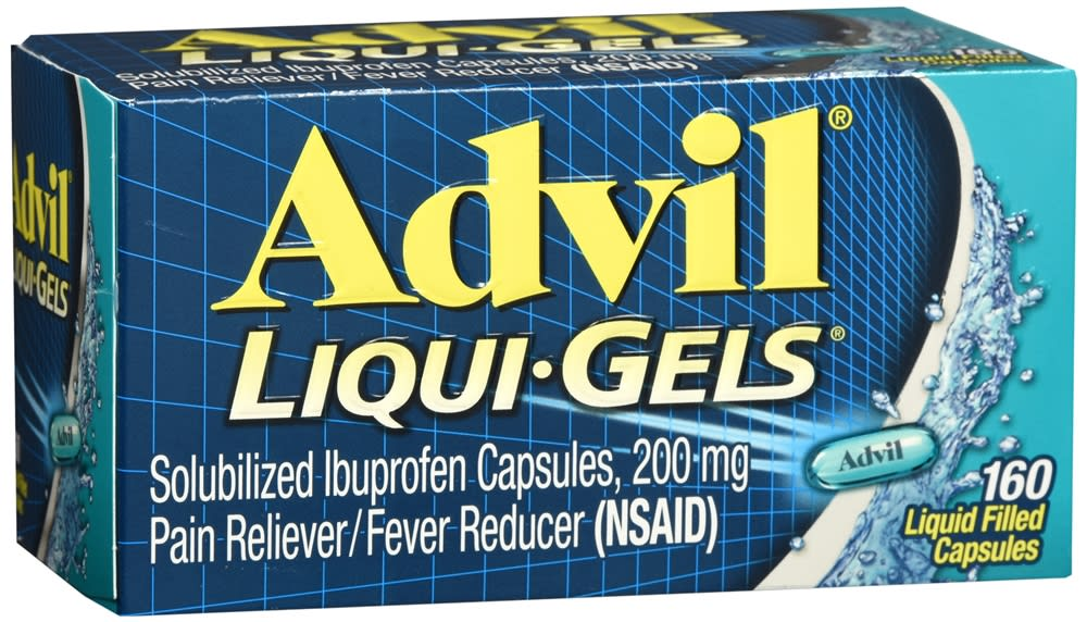 Advil Liqui-Gels, Ibuprofen 200mg (160 count)