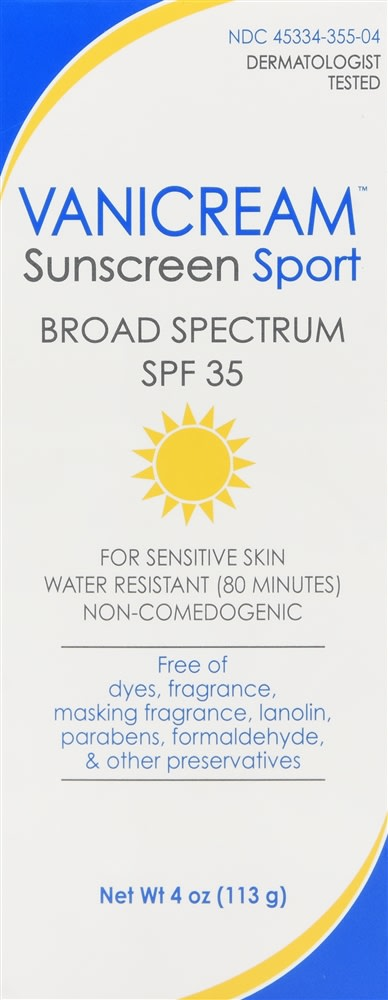 Vanicream Sunscreen Sport Lotion SPF 35