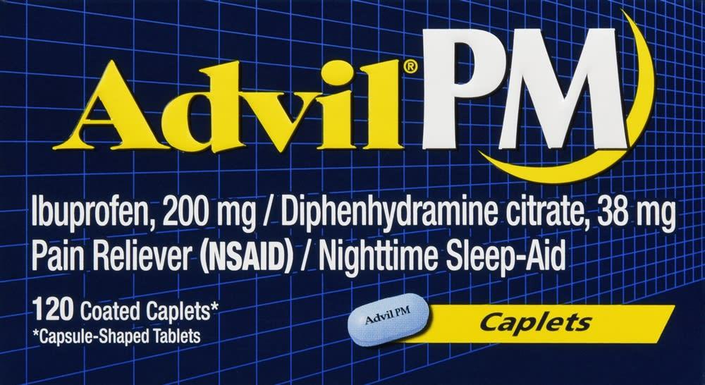 Advil PM Caplets (120 Count)