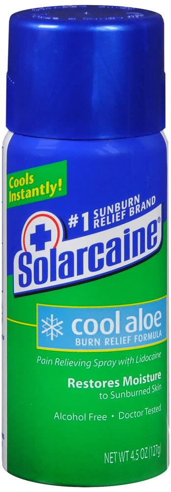 Solarcaine Cool Aloe Burn Relief Formula Spray