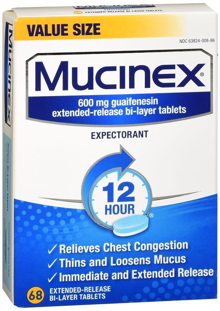 Mucinex Expectorant Tablets