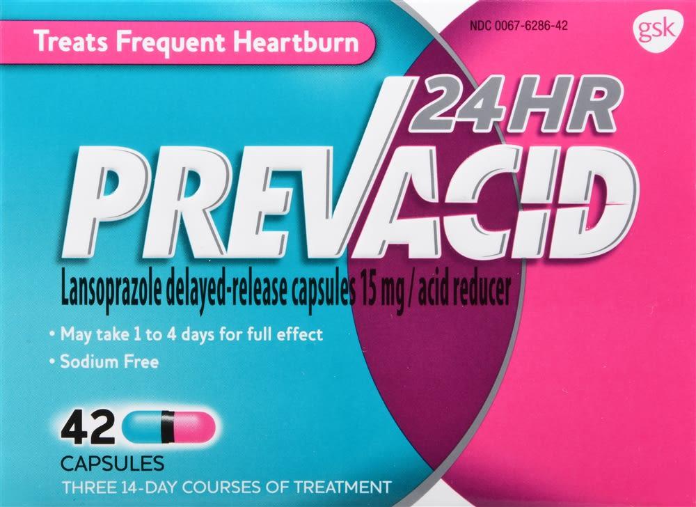 Prevacid 24 HR Acid Reducer Capsules
