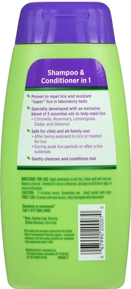 Lice Shield Shampoo & Conditioner in 1