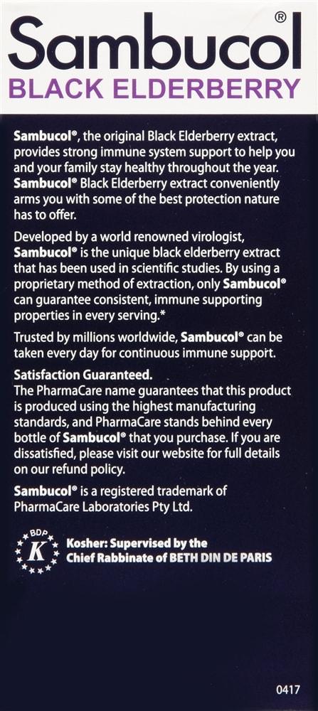 Sambucol Black Elderberry Syrup