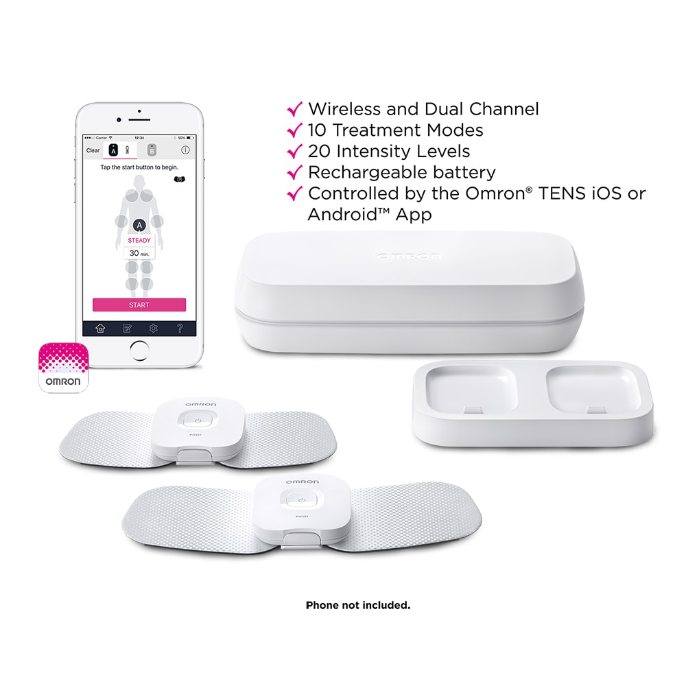 OMRON Avail Wireless Bluetooth Dual Channel T.E.N.S Unit (PM601)