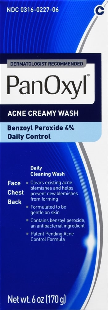 PanOxyl Acne Creamy Wash Daily Control